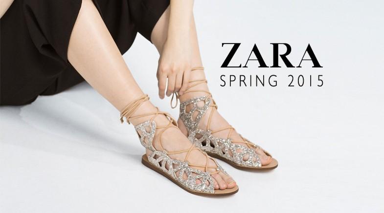 56c29007755 ZARA. Η νέα συλλογή παπουτσιών για την άνοιξη 2016 - More Trends