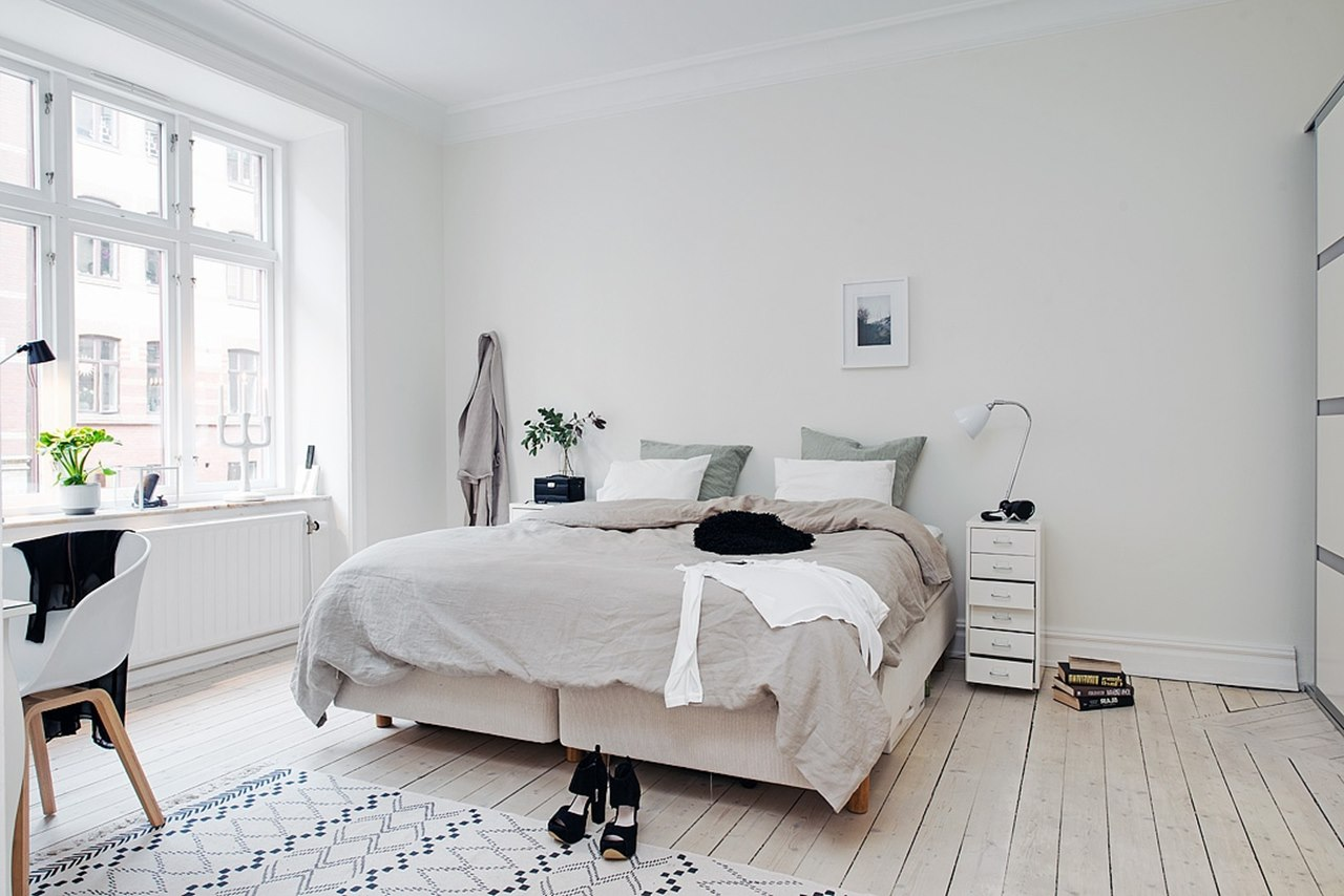 Bedroom-design-in-Scandinavian-style-The-Scandinavians-love-wood