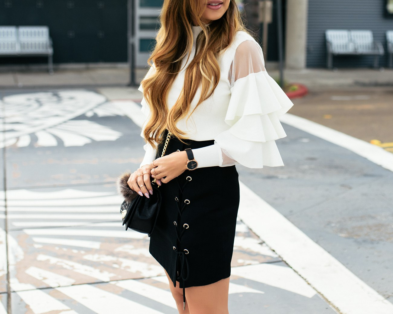 Chicwish-Black-White-Outfit-12