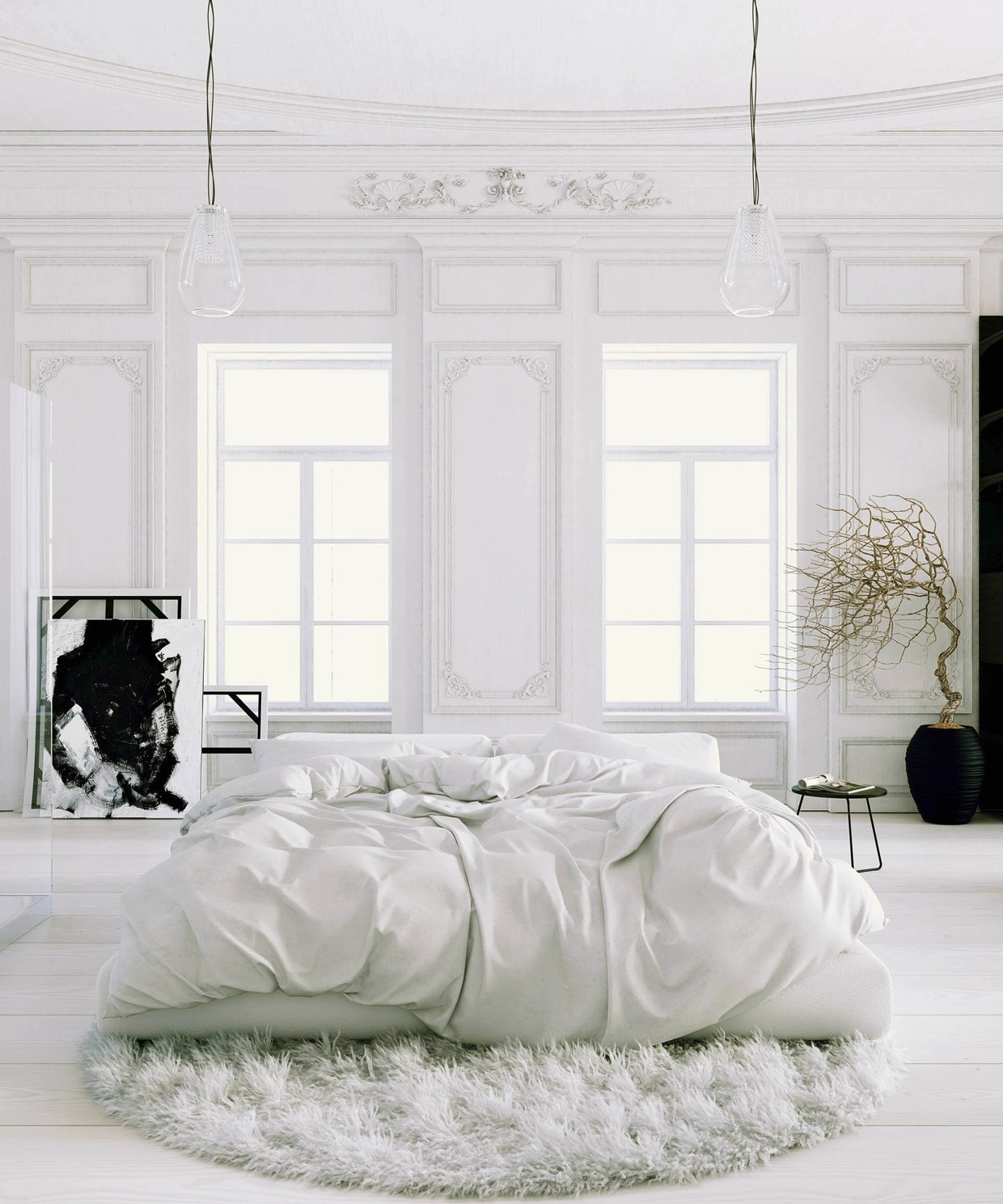 creating an all white bedroom - style and create — white bedroomjuraj talcik & veronika - Home Bedroom Ideas