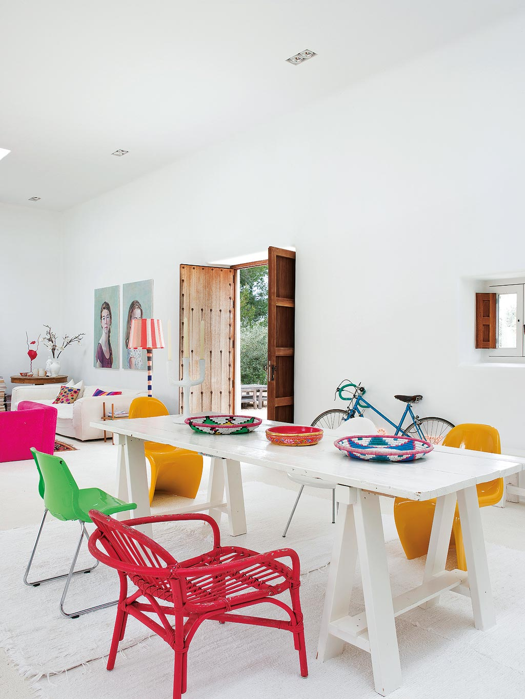 colorful apartment ibiza