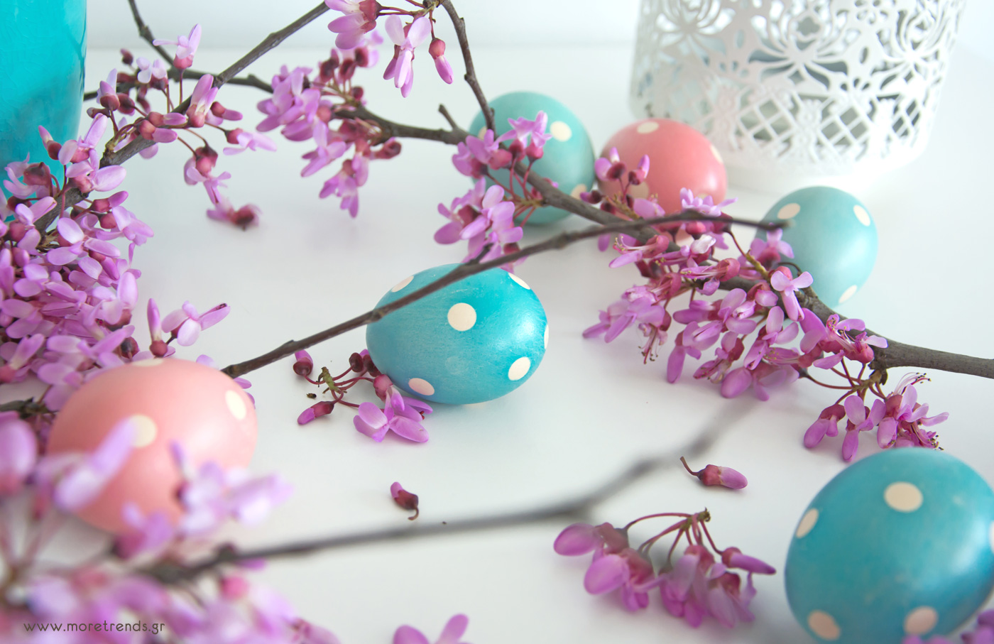 polka dots easter eggs 2