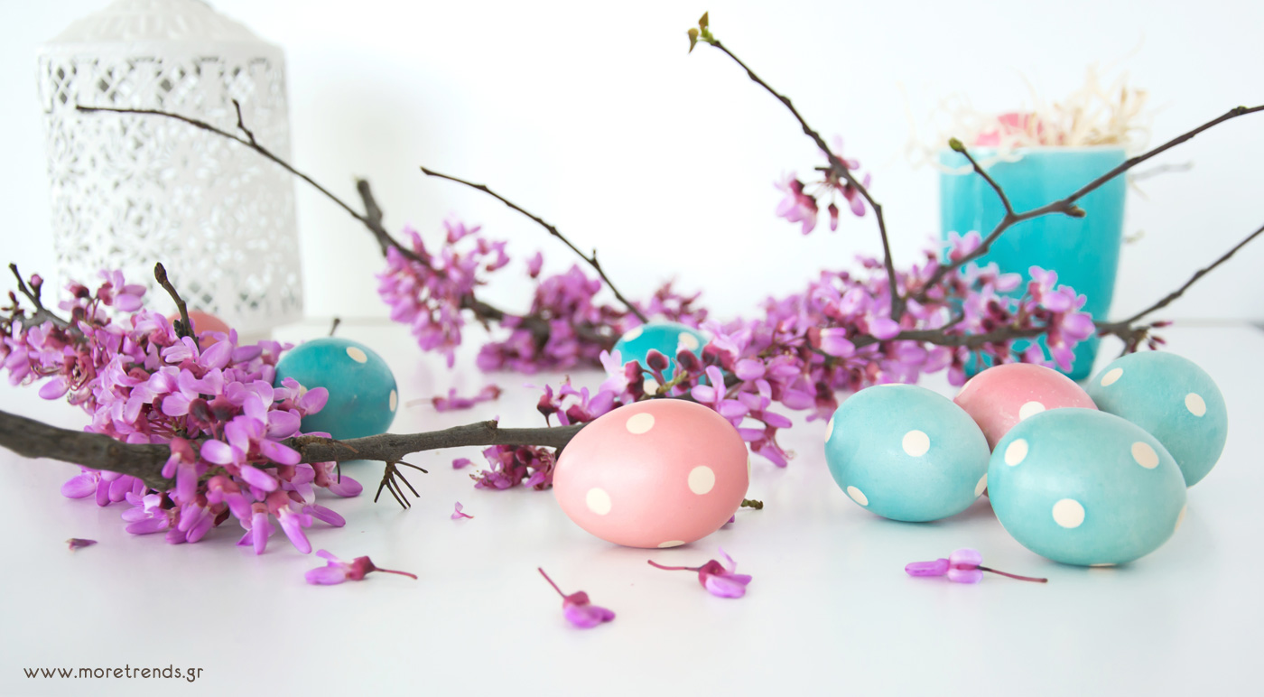 polka dots easter eggs 4