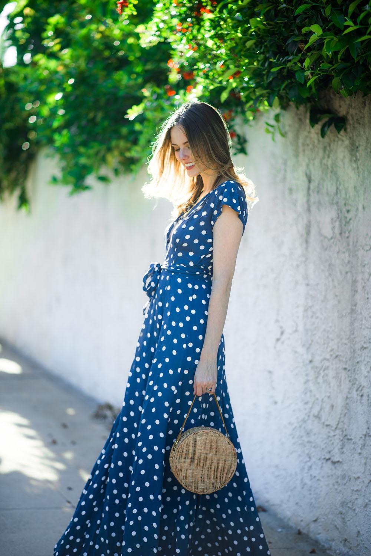 Spring-Polka-Dots-The-A-List-Alyssa-Campanella-Tularosa-Sid-Dress-Serpui-Marie-Destiny-Bag