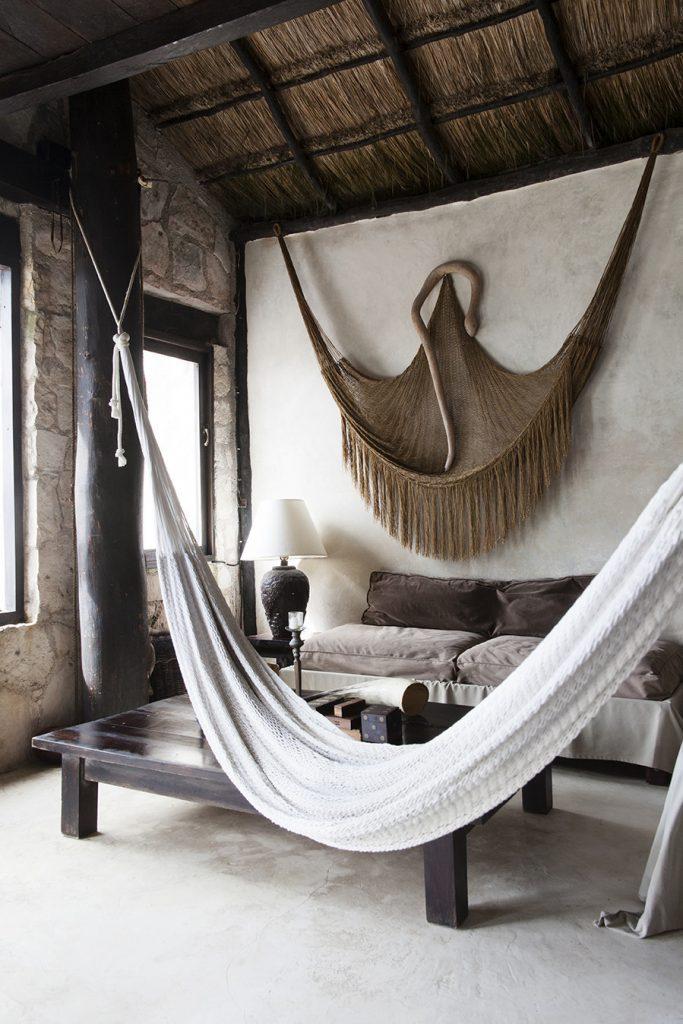 Knitted-hammock