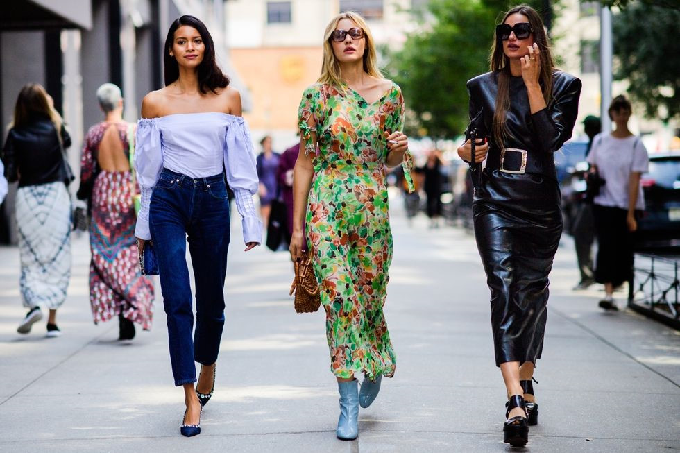 Street Style New York Fashion Week Ss18 More Trends
