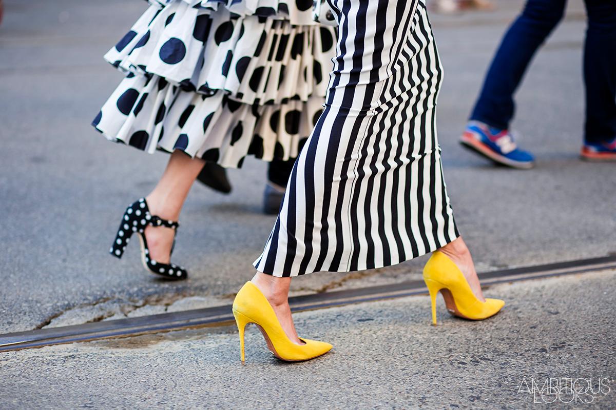 Milan-Fashion-Week-Street-Style-Dolce-Gabbana-AW15-by-Ambitious-Looks-2-polka-dots-stripes-print