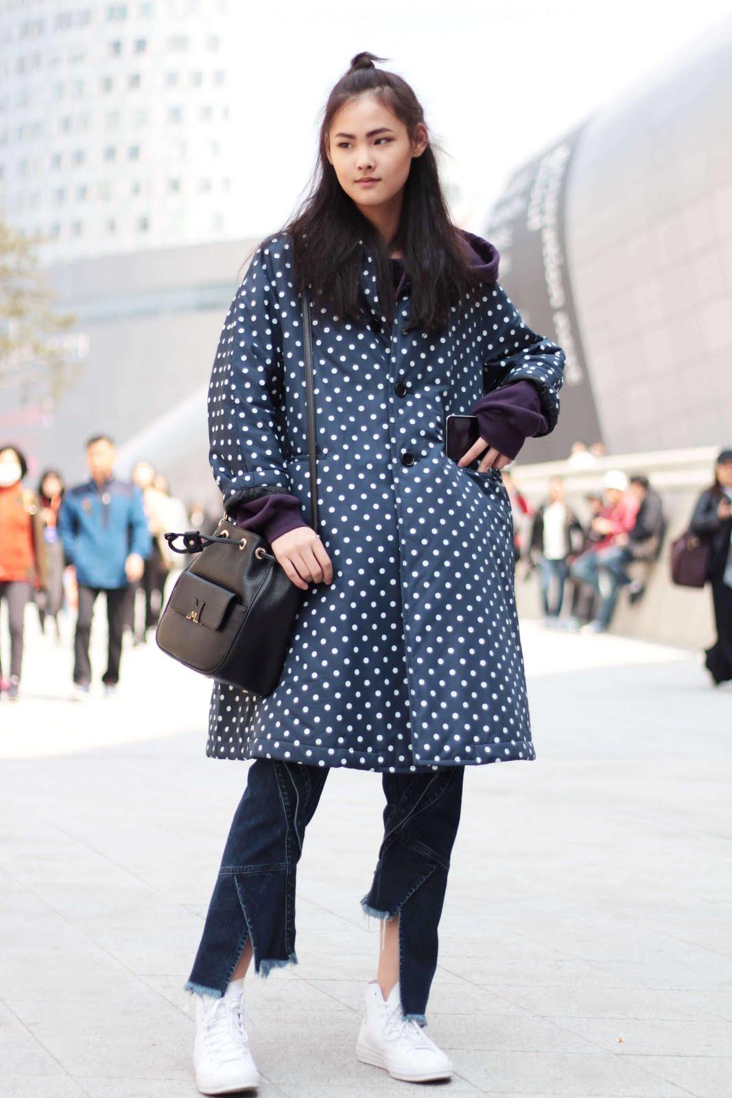 seoul fashion week streetstyle models off duty ygk+ ellis