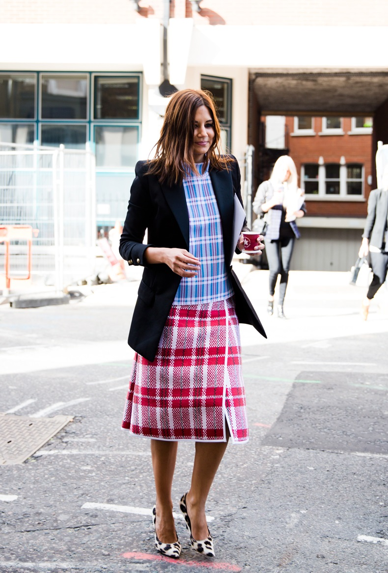 LFW-London_Fashion_Week_Spring_Summer_2014-Street_Style-Christine_Centenera-Celine-Plaid_Trend-Leopard_Shoes-