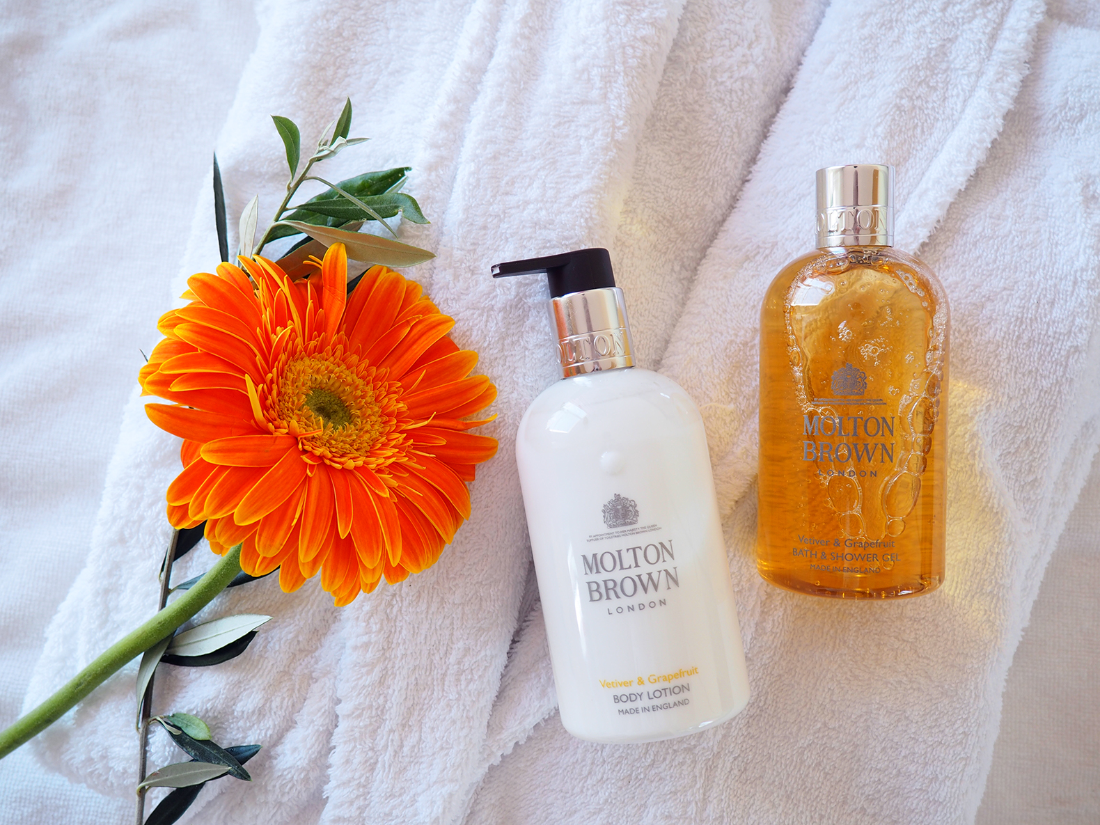 molton brownVetiver & Grapefruit Collection