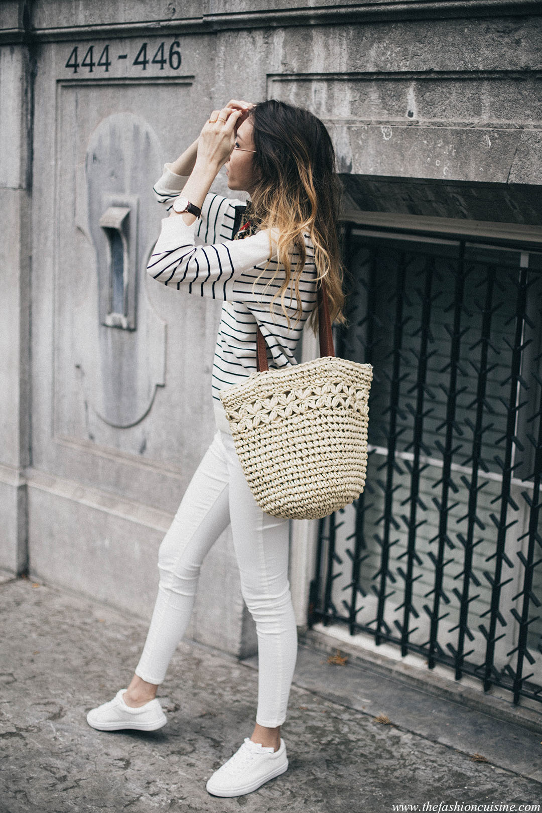 French-style-staples-breton-stripes-sweater-straw-basket-jane-birkin-fashion-blogger-outfit