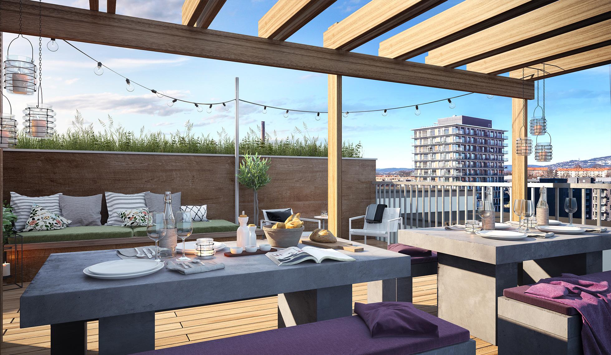 leiligheter-ensjo-oslo-eksterior-balkong-takterrasse-dag-1