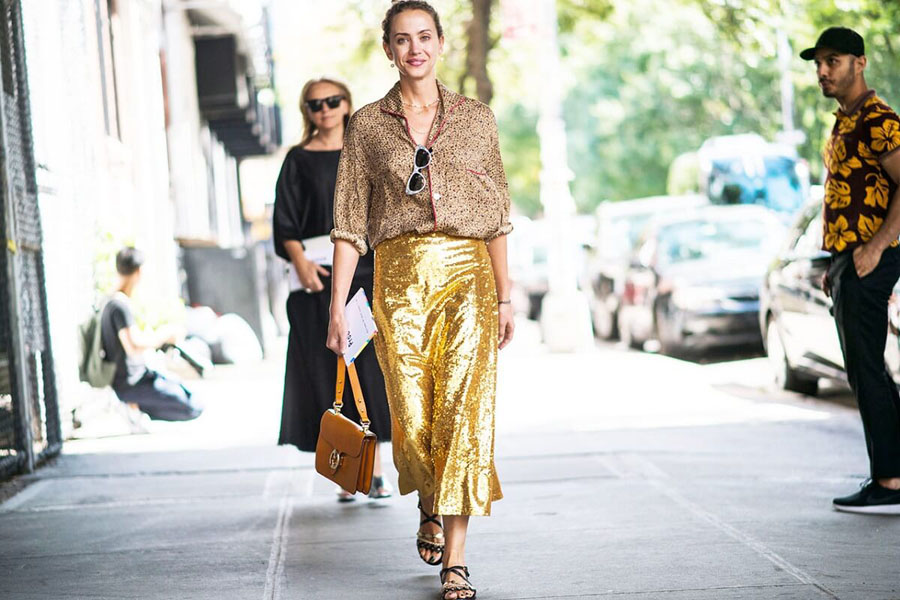 nyfw-street-style-gold-metallic