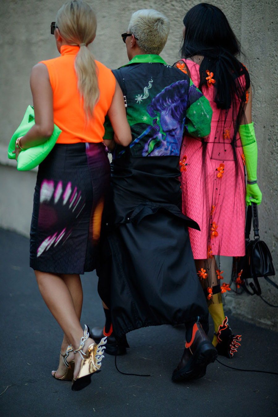 prada-street-style-Neon-and-Nylon-for-Days-at-Prada's-SS19-Show-20