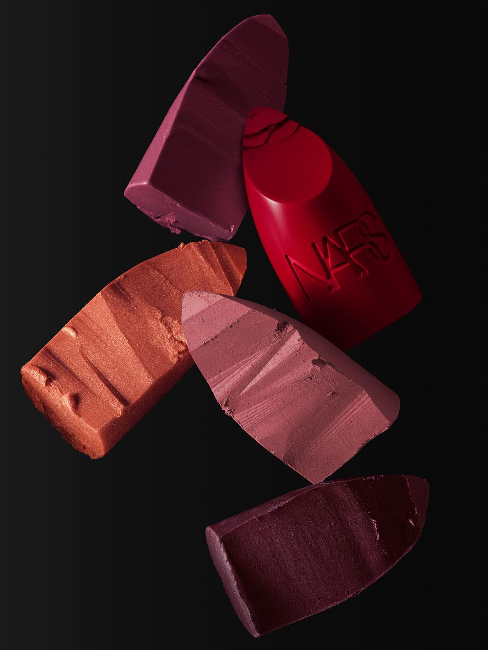 NARS Iconic Lipstick Group Stylized Image (1)