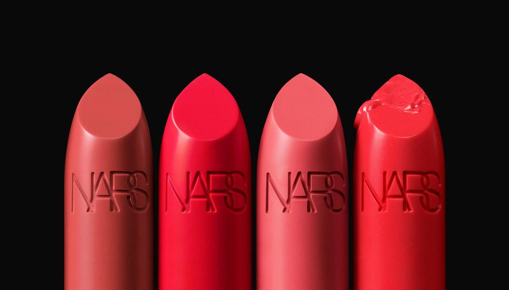 NARS Iconic Lipstick Group Stylized Image (Oranges)
