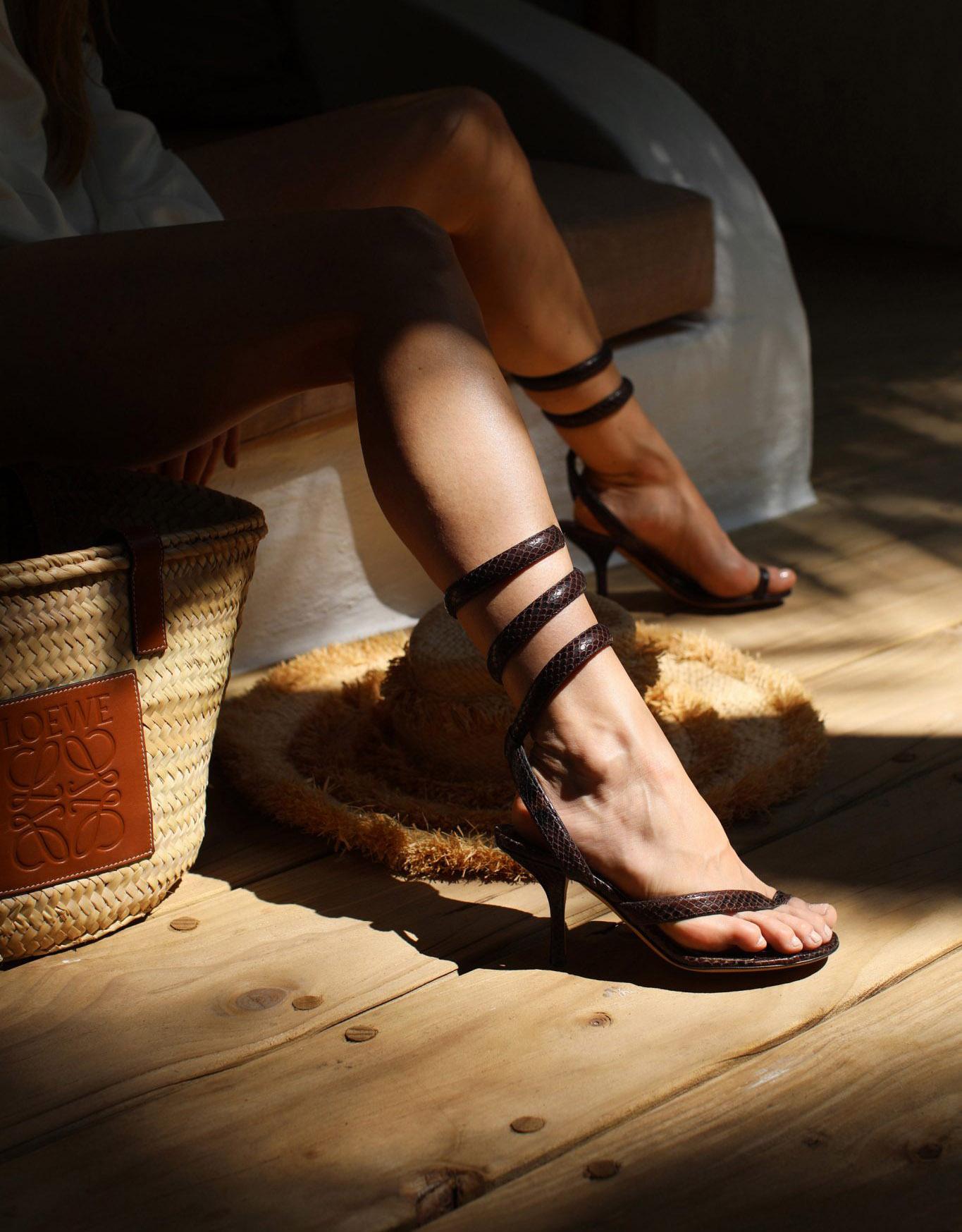 snake-sandals
