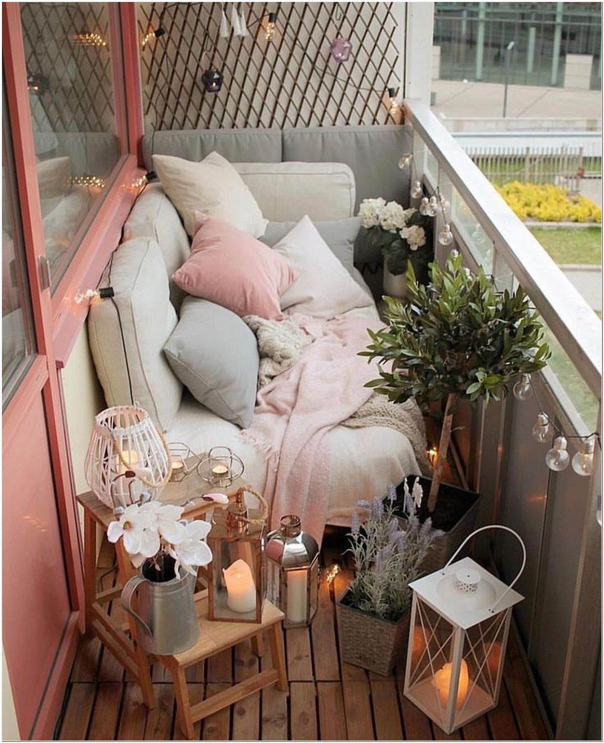 μικρά μπαλκόνια διακόσμηση