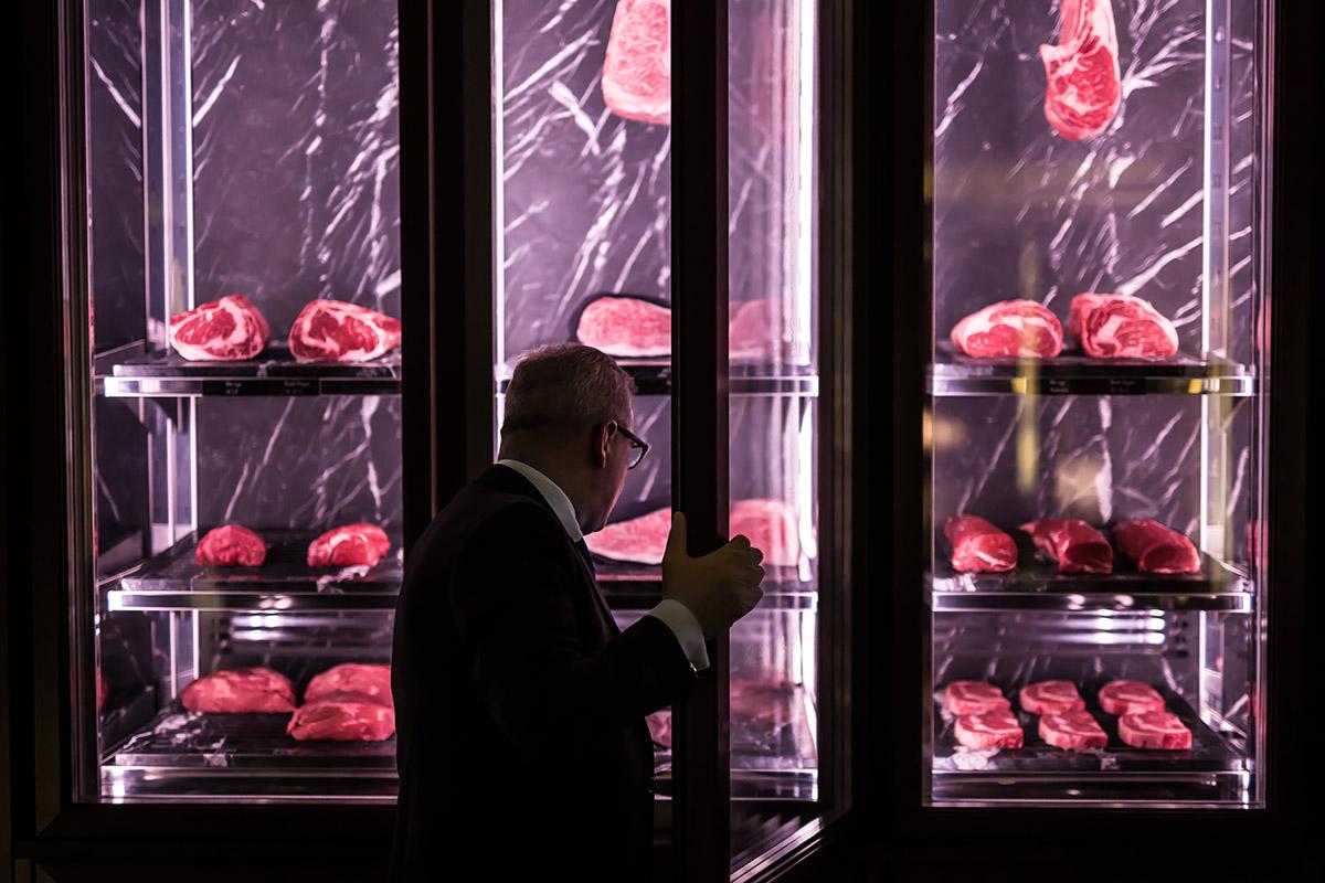 Butcher shop - by Adrien Daste
