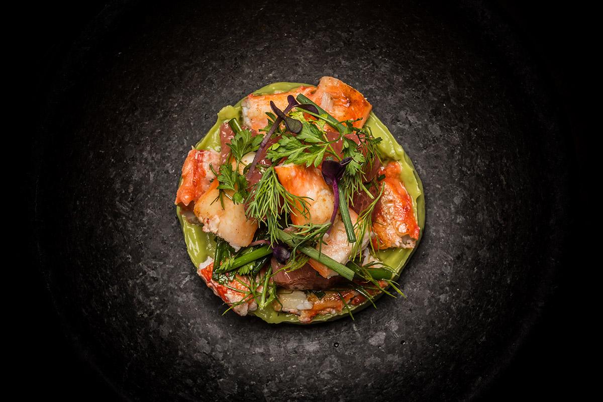 King Crab & avocado - by Adrien Daste