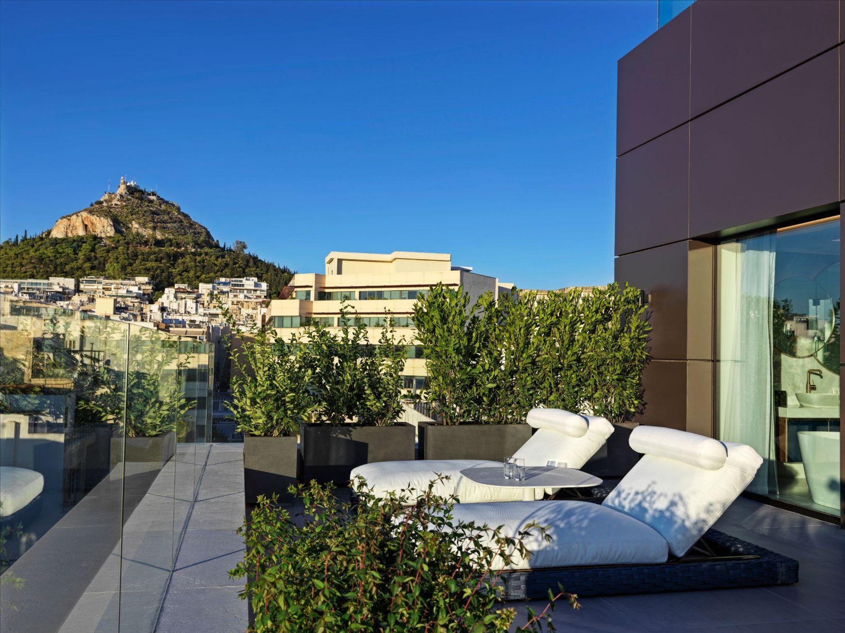 Athens Capital Hotel-MGallery-Presedential Suite Veranda