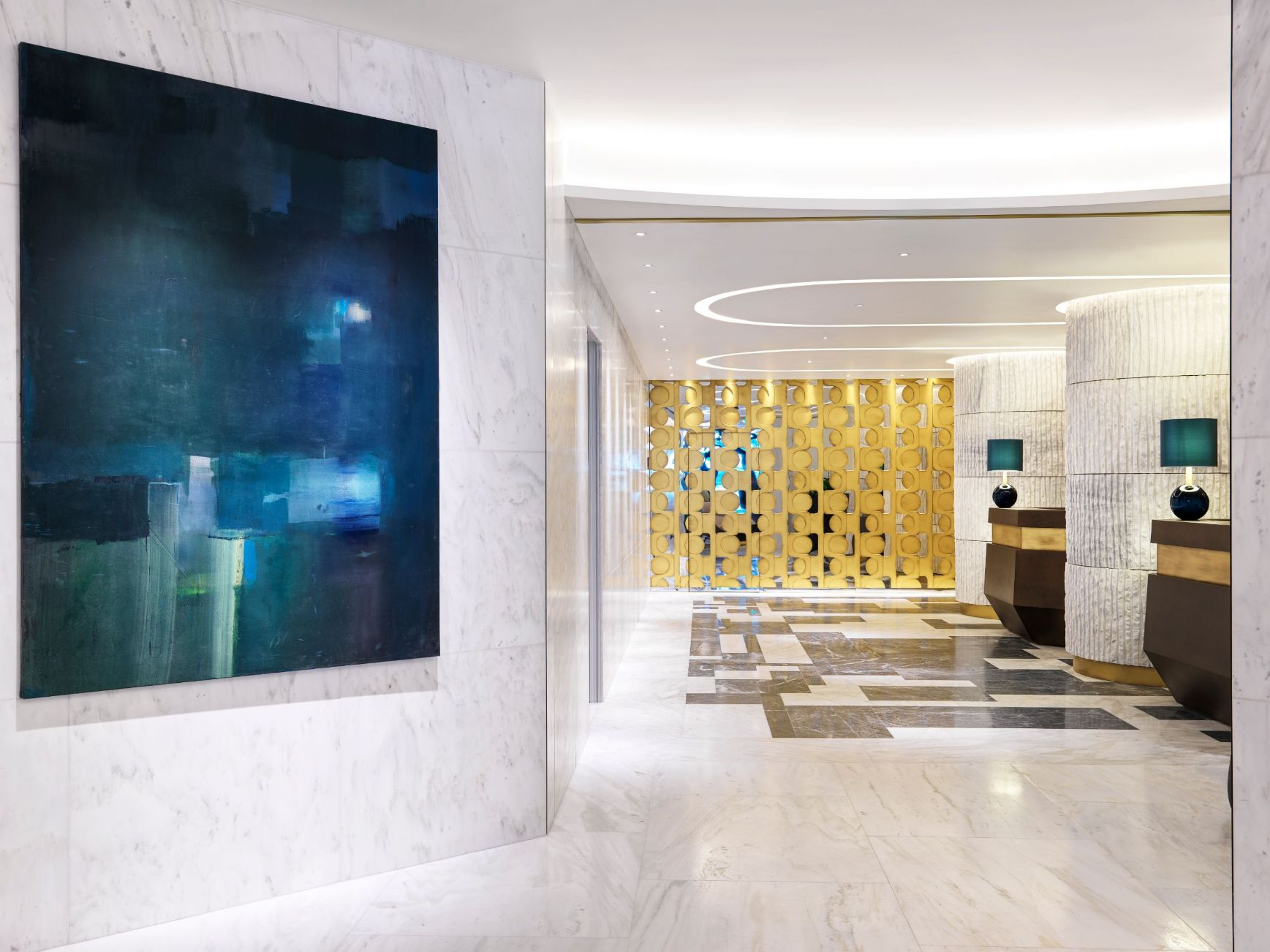 Athens Capital Hotel-MGallery-Reception