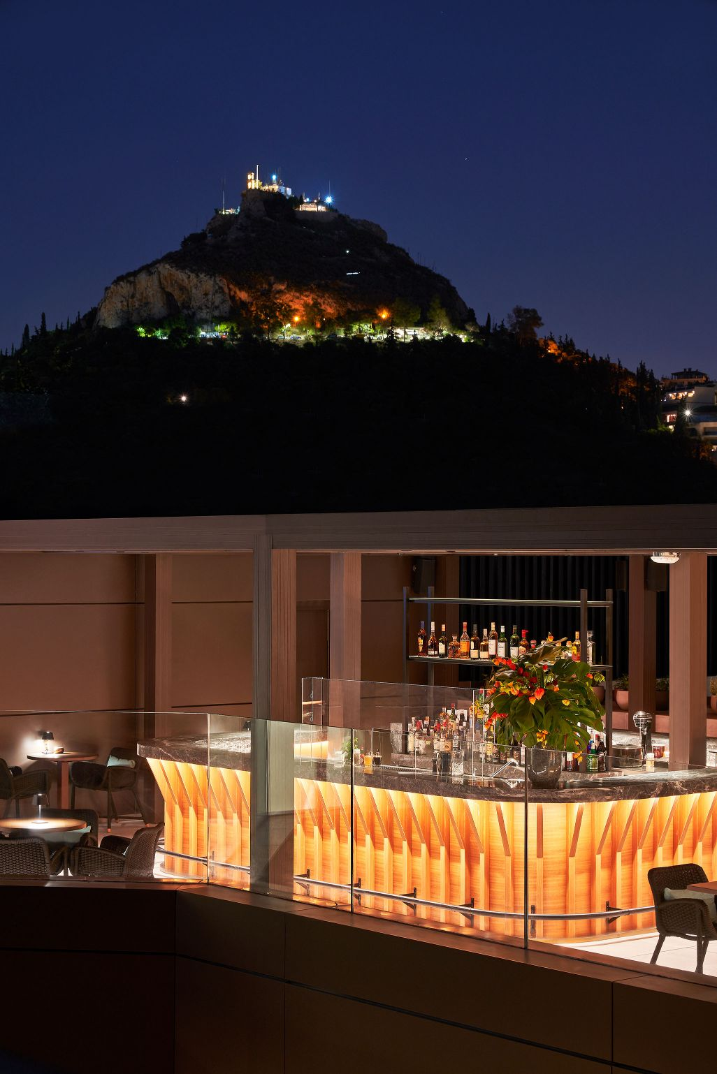 Athens Capital Hotel-MGallery-Rooftop Bar - Lycabettus View