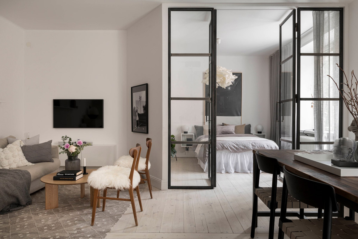 living-room-bedroom-partition