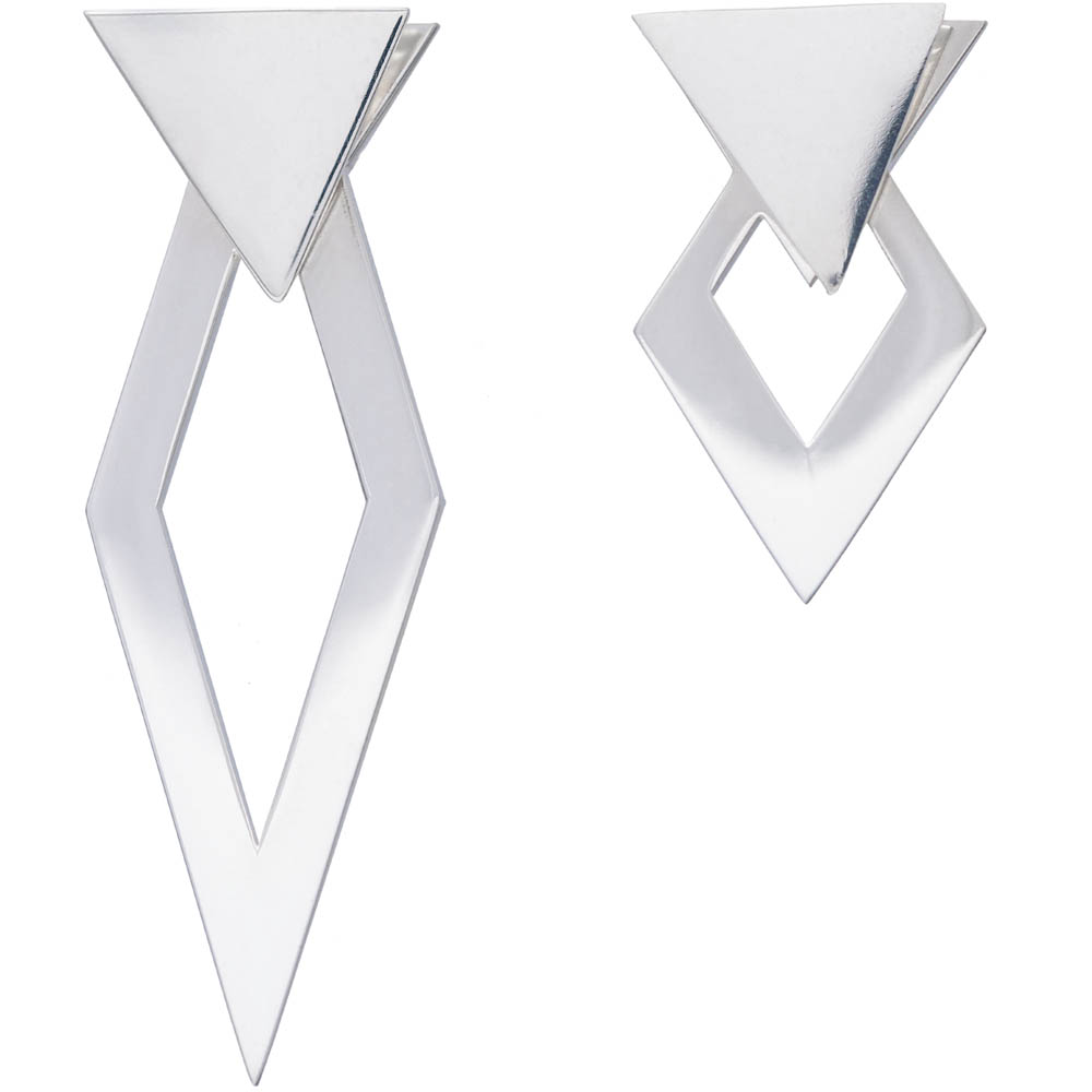 MOTIF collection_Double Angles Earrings_Silver 925_GP402632