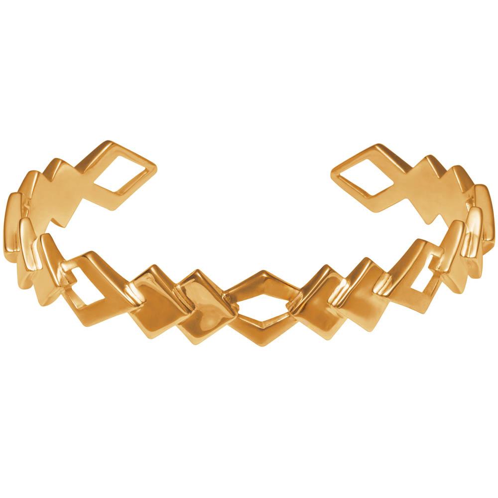 MOTIF collection_Edgy Bracelet_Gold 9k